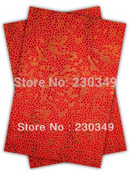 Free shippig African headtie,Head Gear, Sego Gele&Ipele,Head Tie & Wrapper, 2pcs/set ,RED