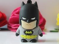 Cheap Real 1GB - 32GB Cartoon Captain America Batman Spider man Green lantern Super man USB Flash Memory Stick Pen Drive U Disk