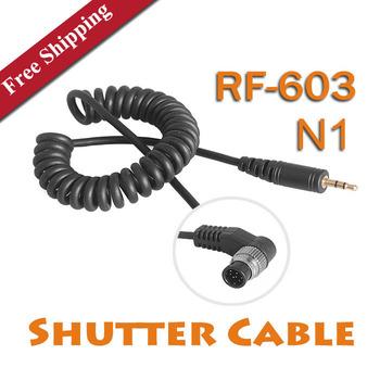 Free Shipping Yongnuo RF-603 N1 Shutter Cable Singel Shutter Release for Nikon D300/D300S