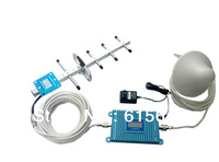 LCD DISPLAY900MHZ  mobile GSM signal booster /repeater/amplifier WITH YAGI free shipping by EMS