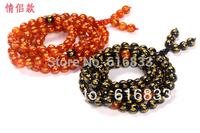 Natural agate 108 lovers design bracelet gift