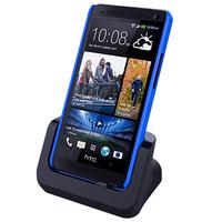 USB Charging Cradle Desktop Docking Station Charger for HTC ONE M7