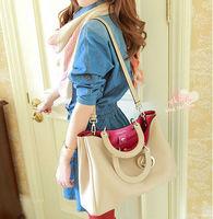 Wholesale hot 2014 women's handbag shoulder bag vintage bolsos PU  messenger bag big fashion Bag comprar en bolsa