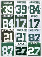 Free Shipp Wholesale Men's American Football Jerseys Cheap Packers #87 Jordy Nelson White Green Elite Jerseys,Embroidery Logos