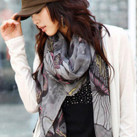 Free Shipping!!! Hot-Sale Products!!! Paris Fashion, National Begonia Scarf.