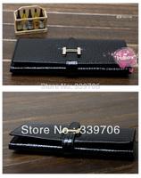 2014 Fashion women's genuine leather wallet long design female clutch Women wallet