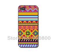 Vintage Aztec Tribal Hard Cover Case for iPhone 4/4S cover for iPhone 5 5S 5C(#022) Custom Design 5pcs/lot Free Shipping