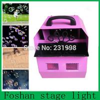 Factory sell,Free shipping bubble machine,mini stage dj effect wedding bubble machine,remove dJ bar bubble machine