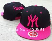 Free shipping 2013 fashion Ymcmb bboy MY baseball cap sports hip-hop SNAPBACK skateboard mlb men's women's hat Top Quality