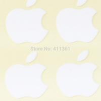 DIY 10pcs Luminescent Logo sticker for Apple iphone3GS/4/4S/5 green light luminous sticker, Free HK post air