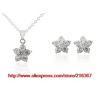 Ювелирный набор PDRS-LKN288, Silver jewelry set, fashion jewelry, high quality, Nickle, 925 Silver, factory price