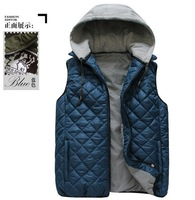 men winter wear, Fashion Vest Jacket For Man, Warm and High Quality, 5 colors,free shipping