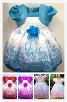 Kids girls dress  princess dress tutu dress children's clothing spring and summer performances