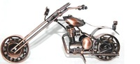 Handmade:Iron crafts (bronze motorcycle model) - home decoration window display M2-1, for your home brings classic flavor