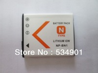 1pcs NP-BN1 NP BN1 L Li-ion Camera Battery  For Sony CyberShot DSC S750 S780 DSC-T110 DSC-TX5 DSC-TX7 W320 W330 W350