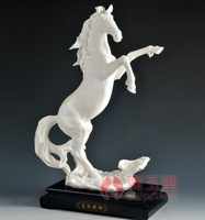 Home Office Decoration ceramic sculpture collection gift Whitehorse