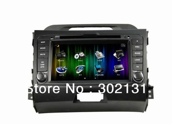 Android 4.0 3G wifi KIA Sportage 2011 multimedia DVD GPS player 1.0G