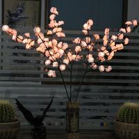 1 M High 96pcs Roses 96pcs Lights LED Lights String Tree Lamp Wedding Christmas Bedroom Decoration Lights