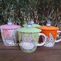 Totoro cartoon cup totoro mug cup home coffee cup gift cup