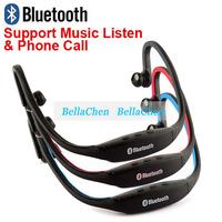 Fashion Sport Wireless Bluetooth stereo Headset Earphone Headphone handsfree for PHONE IPHONE SAMSUNG HTC TABLET PC+listen music