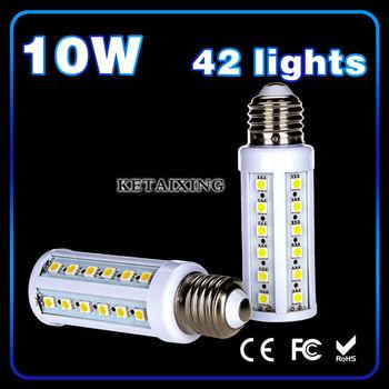 Big Discount 20pcs/lot  Hot Sale 750lm 10W 5050 SMD 44 LED Corn Bulb Light E27 LED Lamp  Warm White