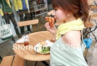 2013 New Korean wild solid color chiffon scarf scarves wrinkled towel fungus towel mix free shipping