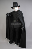 V for Vendetta Guy Fawkes Cospaly Costume