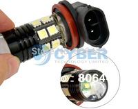 New H8 SMD5050 Cree Q5 12 LED Car Fog Light Bulb Lamp DC 12V-30V White TK0265