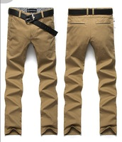 hot , hot sales 100% cotton, 2013 fashion designer brand men casual pants trouser