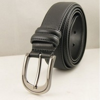 BEST quality free shipping Strap second layer of cowhide pin buckle male belt formal fashion men belts