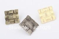 Retro weaving fashion stud earrings free shipping