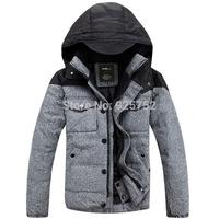 Free Shipping Winter 2014 New Men'S Genuine Short Wool Woolen Coat White Feather Raccoon Hair Padded Collar Jacket Jacket