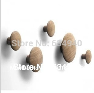 Replica Muuto 'The Dots' Hanger-Natural Oak/modern design/free shipping