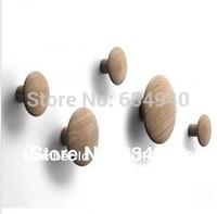 Replica Muuto 'The Dots' Hanger-Natural Oak/modern design/free shipping
