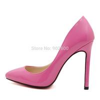 Drop shipping women's shoes big size 44 45 12 cm thin high heel Wedding shoes party sexy pumps