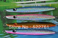 Free shipping Deep sea Lure fishing iron road Asia fishing lure Hard Bait spinner artificial bait Fishing Tackle 200g/pcs