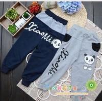 2013 new autumn fashion lovely panda  pants for children/kids clothing baby,children's sport pants,Infant trousers