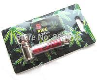 HOT SALE 5pcs/lot MINI Pipe Metal Smoking Pipe mixed color Free shipping