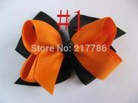 Girls' Hair Accessories, Baby hair bows, hairs clips, grosgrain ribbon bows, free shipping China Post Air Mail f29