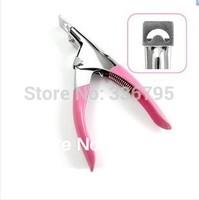 Free Shipping Nail art tools supplies one set false nail tips cut sclerite clipper