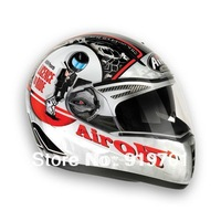 cool Airoh pit one xr ride double layer lens motorcycle helmet