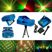 Hot sell ! Free Shipping, 1PC Mini Projector R&G DJ Disco Light Stage Xmas Party Laser Lighting Show, DJ-BL