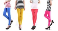 Modal Cotton Multicolor Leggings Elastic Thin Pantyhose BH025