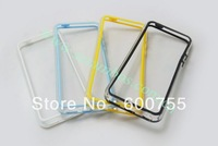 100pcs Style Dual Color PC + TPU Bumper Protecting Frame for iPhone 5C