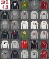 2013 New men's long sleeved t-shirt big yards plus size S-6XL