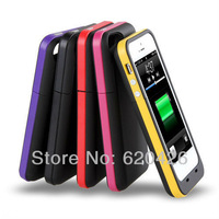 2300mAh External Charger Backup Battery Case Power Bank for iPhone 5