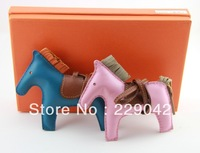 Hot sale ladies real calfskin   horse charms