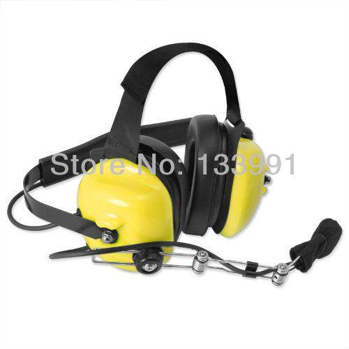 Earmuff walkie talkie