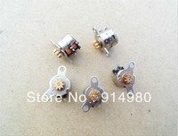 New DC 3V 2 phase 4 wire stepper motor with 0.3 module gear stepping motor