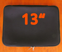 "13"" Cover Case Sleeve Bag for Apple MacBook Pro 13 with Retina Laptop - Black Notebook protection bravery laptop sleeve"